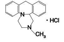 ミアンセリンの構造式